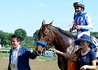 Drefong after Aug. 27 King's Bishop Stakes win