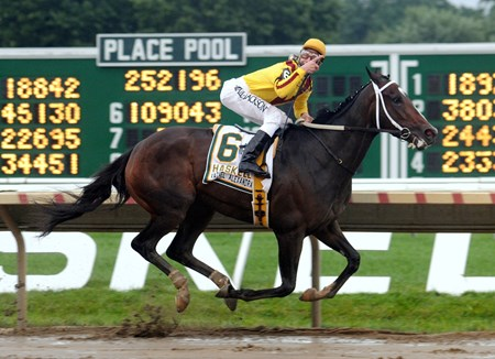 Rachel Alexandra wins the 2009 Haskell