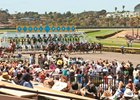 Handle, Purses Down Slightly at Del Mar