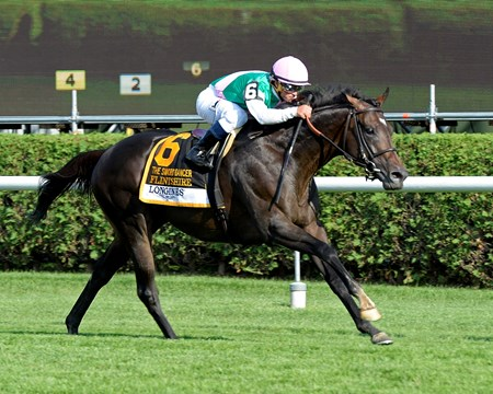 Flintshire with Javier Castellano wins the 2016 Sword Dancer