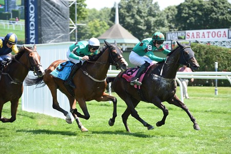 Bob Le Beau (IRE) wins the A. P. Smithwick Memorial Steeplechase S. (gr. I) at Saratoga