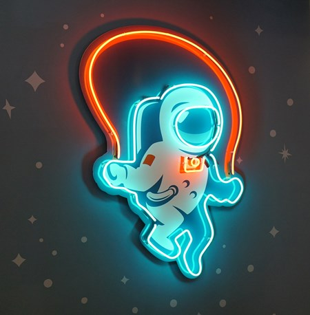 Rocket Games office sign