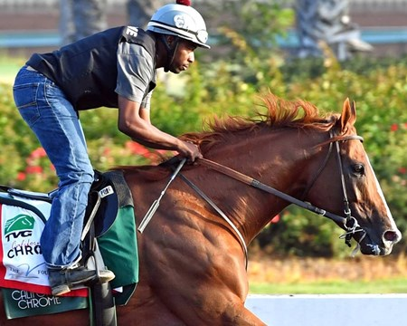 California Chrome - Los Alamitos, September 10, 2016