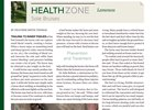 Health Zone lameness - sole bruises magazine feature
