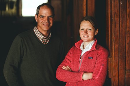 Broussard and Rosie Hundley, owners of Saxony Farm