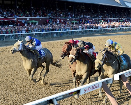 Shaman Ghost wins the 2016 Woodward