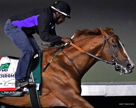 California Chrome - Los Alamitos, September 17, 2016