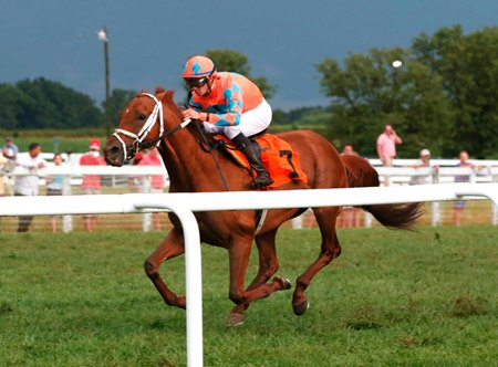 Da Big Hoss scores a repeat victory in the Kentucky Turf Cup