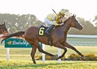 Lull won the Kentucky Downs Juvenile Fillies Stakes on Sept. 3
