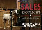 Keeneland September Sale Session 1 Recap