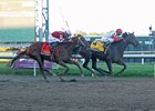 Connect, winning the Pennsylvania Derby (gr. II) from Gun Runner Sept. 24 at Parx Racing