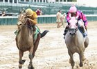 Engaginglee winning the Locust Grove (gr. III)