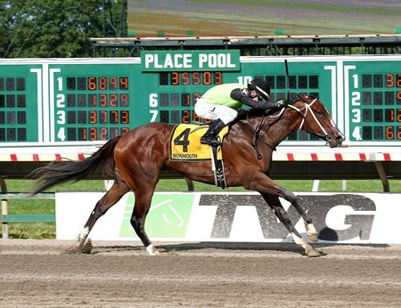 Sorority Stakes winner Made Me Shiver is the top earner for Maclean's Music, one of the leading 1st-crop sires