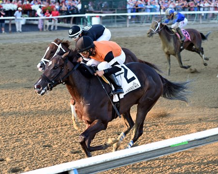 Lucy n Ethel wins the Prioress Stakes