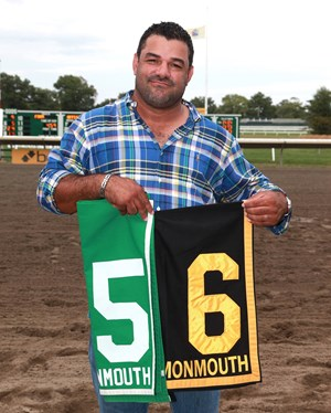 "Trainer Jorge Navarro will be fined $10,000 for behavior deemed ""detrimental to racing"""