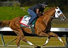 California Chrome Powerful Late in BC Drill