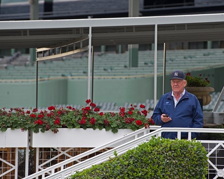 Jim Cassidy Works at Santa Anita in preparation for 2016 Breeders' Cup on Oct. 29 2016, in Arcadia, CA.