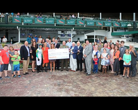 Warrior's Club won the Spendthrift Stallion Stakes for the Churchill Downs Racing Club