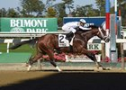 Theory Impressive Again in Futurity