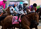 Erupt winning 2016 Pattison Canadian International Stakes at Woodbine.