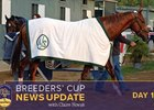 Breeders' Cup News Update for October 30