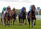 Almanzor leads the way in the QIPCO Champion Stakes