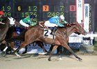 Shy Ruston wins at Delta Downs Oct. 20 in her second start.
