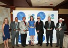 Winners of the inagural Thoroughbred Industry Employee Awards Sponsored by Godolphin