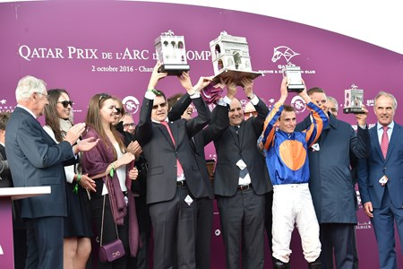 Found wins the 2016 Qatar Prix de l'Arc de Triomphe