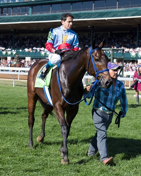Mongolian Saturday with Carlos Montalvo aboard wins The 20th Running of The Woodford Presented by Keeneland Select (gr. 3) at Keeneland on , Saturday Oct. 8, 2016  in Lexington, Ky.