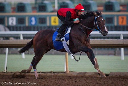Songbird - Santa Anita, October 6, 2016