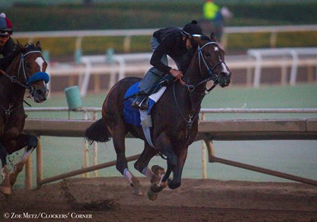 Songbird works Oct. 13 at Santa Anita