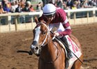 Untapped in her maiden win at Keeneland Oct. 26