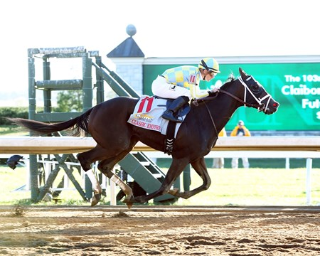 Classic Empire wins the 2016 Claiborne Breeders' Futurity