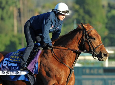 Dortmund at Santa Anita Tuesday morning