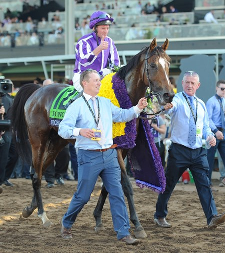 November 5, 2016: Highland Reel Seamus Heffernan up, wins the Breeders' Cup Turf