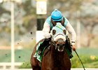 Stryker Phd and jockey Leslie Mawing win the Berkeley