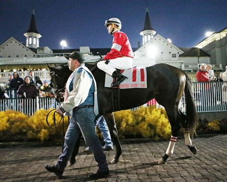McCraken wins the 2016 Kentucky Jockey Club Stakes
