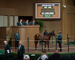 Magnier Gets War Front Colt for $1.45 Million