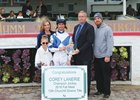 Corey Lanerie is recognized as Churchill's fall meet leading rider.