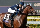 Oscar Performance winning the Breeders' Cup Juvenile Turf