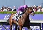 Obviously wins the 2016 Breeders' Cup Turf Sprint