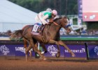 Arrogate overtakes California Chrome to win the Breeders' Cup Classic