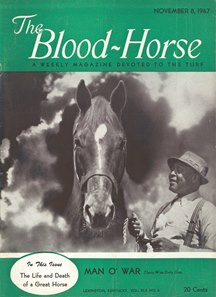 "The passing of a legend prompted a special commemorative issue that chronicled the ""life and death of a great horse"""