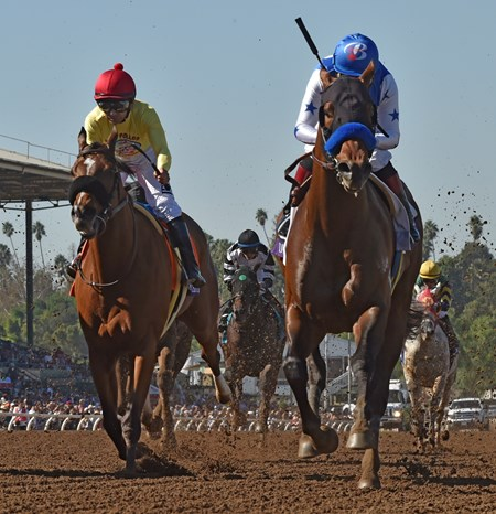 Drefong wins the 2016 Breeders' Cup Sprint