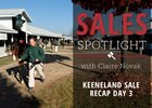 2016 Keeneland November Sale Day 3 Recap