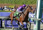 Highland Reel runs away from the field in the Breeders' Cup Turf