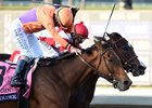 Beholder Noses Out Songbird in BC Distaff
