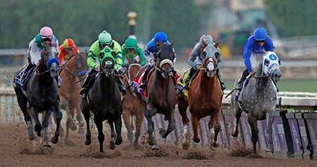 Arrogate wins the 2016 Breeders' Cup Classic