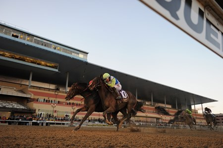 Connect wins the 2016 Cigar Mile